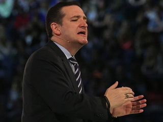 Cruz preaches to the Tea Party choir