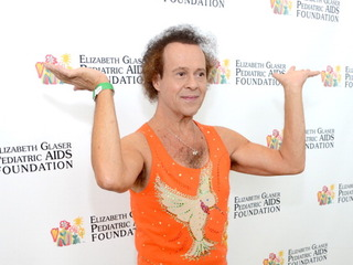 LA Police say Richard Simmons is just fine