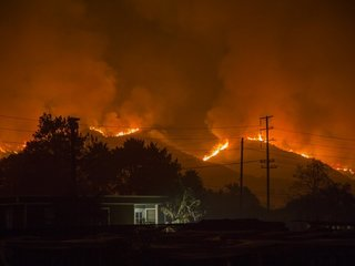 California fire now state's 3rd-largest ever