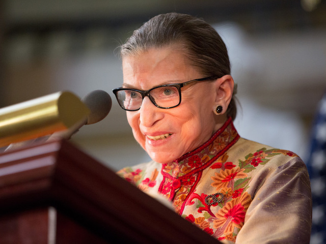 Justice Ginsburg: 'Macho Atmosphere' Tripped up Clinton in 2016