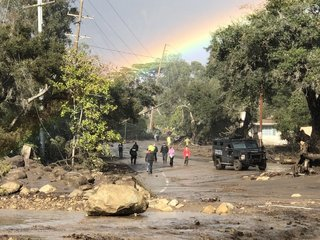 California mudslides are a product of wildfires