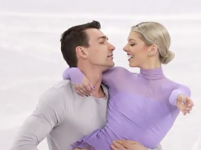 Winter Olympics: US figure skating pair competes with heavy hearts