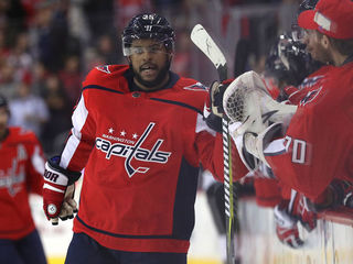 Caps player on receiving end of racial taunts