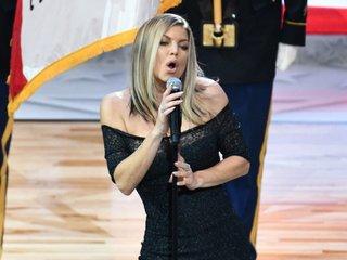 Fergie addresses national anthem at NBA game