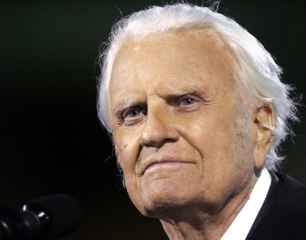 Evangelist Billy Graham to lie in honor at US Capitol next week