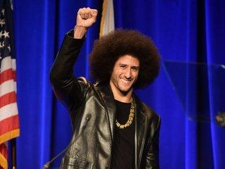 Kaepernick wins Amnesty International award