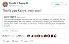 Kanye West criticizes Obama and praises Trump
