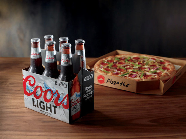 Pizza Hut Expands Beer Delivery Experiment