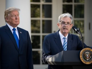 Trump criticizes Fed's interest rate hikes