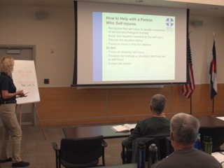 Program aims to educate public on mental health